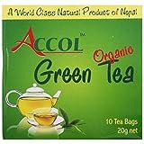 Accol Organic Green Tea (10 Tea Bags)