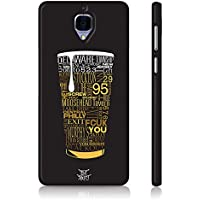 Be Awara Beer Cheer Back Case For OnePlus 3