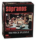 The Sopranos Guys at Dinner Table Jigsaw Puzzle 550pc