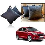 Car Vastra Cushion Pillow Set Black Color For Car & Home For - Ford Figo Aspire