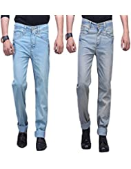 X-CROSS Men's Slim Fit Jeans Combo (Pack Of 2) - B0132WUGG0