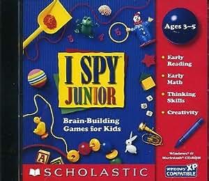 Amazon.com: I Spy Junior Educational Computer Game [CD