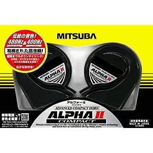 MITSUBA [ ミツバサンコーワ ] アルファーIIコンパクト [ クラクション ] ホーン [ 品番 ]
