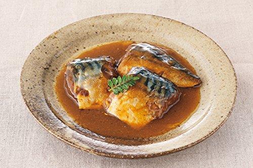 保存料 着色料 不使用 レトルト 惣菜 さばの味噌煮 120g (1-2人前) X3個セット (ロングライフシリーズ 常温で3年保存可能 和食 おかず 煮物)