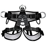 Banggood Mountaineering Rock Tree Climbing Rigging Fall Arrest Safety Harness Carving