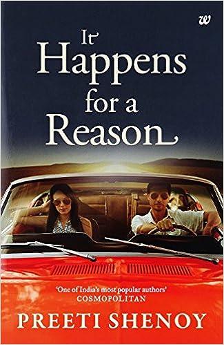 All Preeti Shenoy Books List : It Happens For a Reason