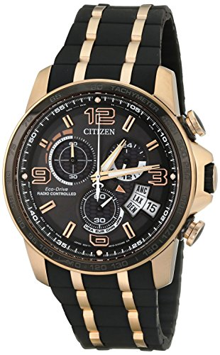 Citizen Eco-Drive Chrono Time A-T Limited Edition Rubber - Black Men's watch #BY0119-02E