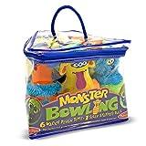 Melissa & Doug Monster Plush Bowling Game