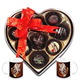 Chocholik Belgium Chocolate Gifts - Rich And Delicious Choco-treats With Diwali Special Coffee Mugs - Gifts For...