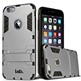 Labrador X1 Iphone 6 Slim Back Case Cover Matte Finish With Labrador® Retail Packaging (Silver White)