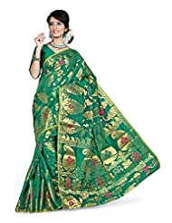 Kanchipuram Art Silk Saree(D.no-113-Rama)