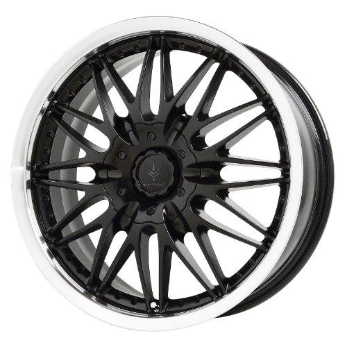 Verde Custom Wheels Regency Black Wheel Machined Lip (18×7.5″/5×115 mm)