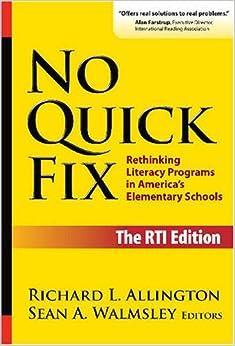 Amazon.com: No Quick Fix, The RTI Edition: Rethinking