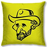 Right Digital Printed Clip Art Collection Cushion Cover RIC0013a-Yellow