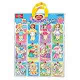T. S. Shure Sweets Hearts Tea Party Wooden Magnetic Dress-Up Dolls