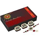 Best Rakhi Gift - 6 Chocolate Gift Box - Rakhi With Chocolates