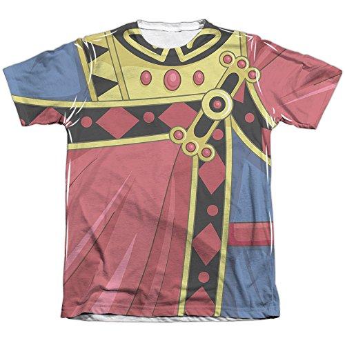 Voltron Zarkon Costume Men's T-Shirt (Printed Front Back Print)