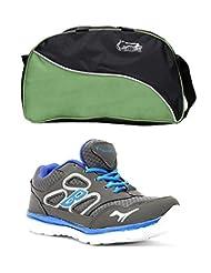 Elligator Shoes And Stylish Travel Bag - B00XJKHHZ4