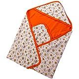 Mee Mee Baby Warm Wrapper With Hood (Orange)