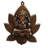 JaipurCrafts Matel Wall Hanging Of Lord Ganesha On Lotus - B00Y3IDR5K