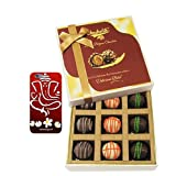 Chocholik Belgium Chocolates - 9pc Ultimate Assorted Collection Of Chocolate With With 3d Mobile Cover For IPhone...