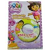 "Dora Inflatable Swim Ring 20"" (Doras Day At The Beach)"