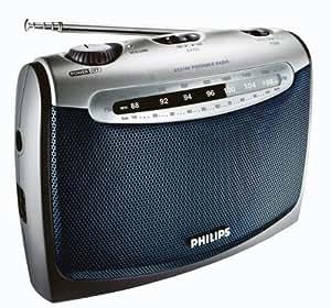 Philips AE 2160 Kofferradio Ausgangsleistung: 300mW RMS