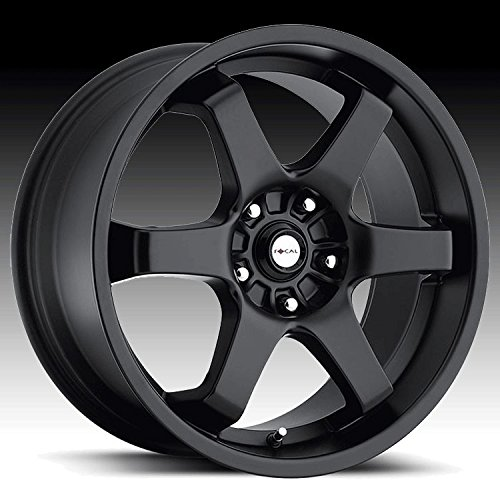 Focal X 15 Black Wheel / Rim 5×4.5 & 5×100 with a 38mm Offset and a 73 Hub Bore. Partnumber 421-5618B+38