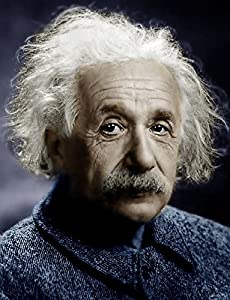 Amazon.com: ALBERT EINSTEIN PORTRAIT COLOR PHOTO: Posters