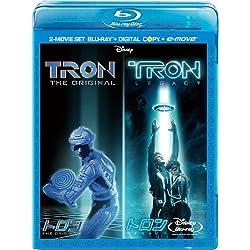 トロン:オリジナル×レガシー ブルーレイ・セット (期間限定) [Blu-ray]