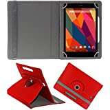 """MBW High Quality Professionel Look 10"""" Inch ROATED Executive Cover Red Colour For Apple IPad 4 With Retina Display..."""