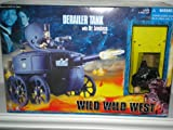 Wild Wild West, Derailer Tank with Dr. Loveless Figure