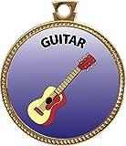 Keepsake Awards Guitar Gold Award Disk