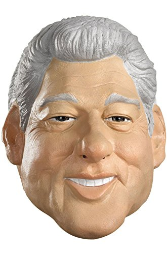 Trump and Clinton Halloween Costumes - Choose Edgy or Funny - Mememall Fashion Bill Clinton Adult Vinyl Mask Halloween Costume Accessory