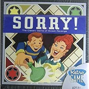 Click to buy Sorry Retro Game - LIMITED EDITION - The Classic Game of Sweet Revenge from Amazon!