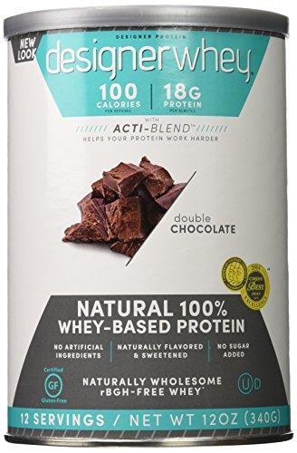 Designer Whey 12 oz  Double Chocolate