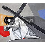 Artzloom 3rd Stations Of The Cross, Jesus Falls The First Time In The Church Of The Holy Trinity In The Bavarian... - B011GWKPIM
