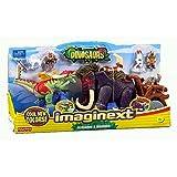 Imaginext Allosaurus & Mammoth