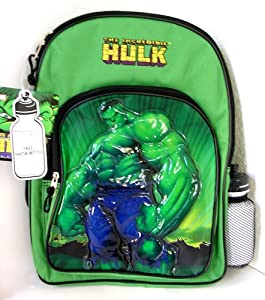 Amazon.com: The Incredible Hulk Full Size School Backpack