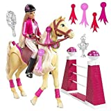 Mattel Barbie Jumper Tawny Horse with Barbie