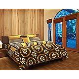 Stellar Home USA Adoria Polycotton Bedlinen With 2 Pillow Covers - Queen, Multicolor (807039281521)