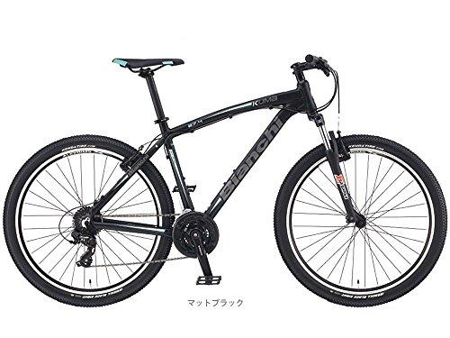 """ビアンキ(BIANCHI) CYCLE 2017 KUMA 27.4(3x8s Vブレーキ)MTB27.5"""" マットブラック 43"""