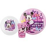 Minnie Mouse Bowtique 3piece Mealtime Gift Set