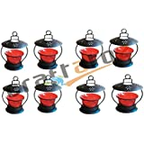 Christmas Gift Home Decorative Tealight / Candle Light ( Red ) Pack Of 8