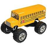 Toysmith 5020 Monster Bus, 5-Inch