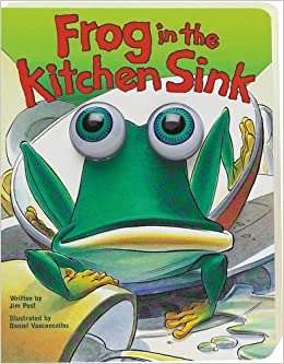 kitchen sink books frog in the kitchen sink eyeball animation board book 2589