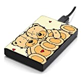 MeSleep Teddy Bear Hard Drive Skin