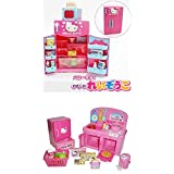 Hello Kitty Kitchen And Refrigerator Sets Sold Together Everything Needed For Cooking Play