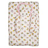 Wonderkids Pink Teddy Print Baby Bedding Set