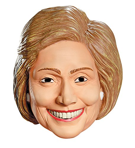 Trump and Clinton Halloween Costumes - Choose Edgy or Funny - 87552/48 Hillary Mask Newest